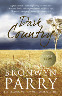 Cover (B format) - Dark Country by Bronwyn Parry