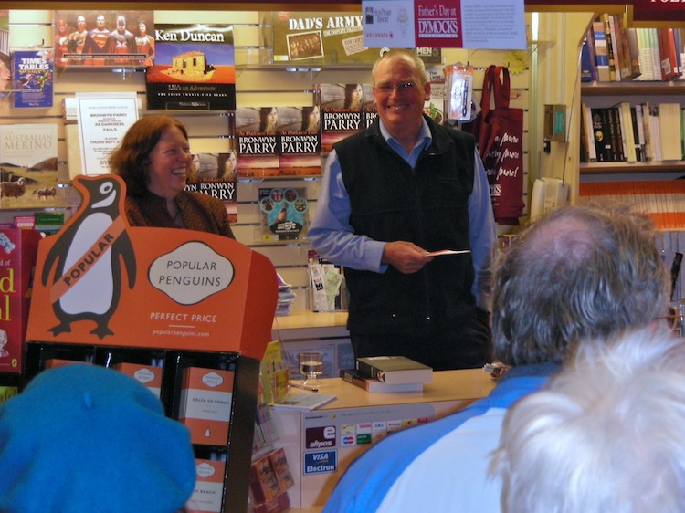 Armidale launch of As Darkness Falls by Bronwyn Parry