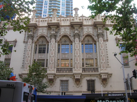 Old building, George Street, Sydney