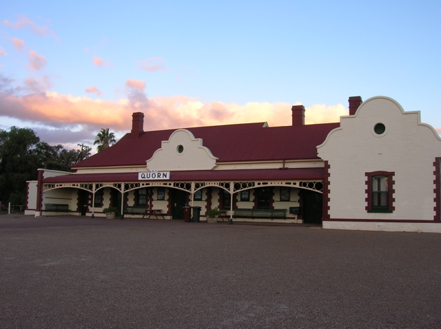 Railway Station, Quorn, South Australia