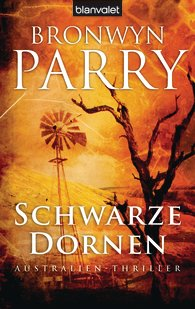 Cover of Schwarze Dornen by Bronwyn Parry (As Darkness Falls)