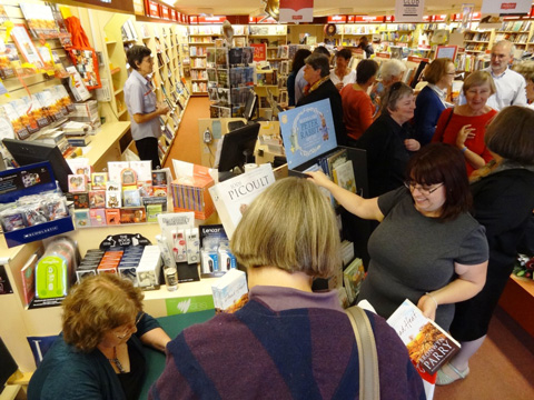 Dead Heat launch at Dymocks, Armidale