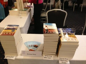Bronwyn Parry books at ARRA booksigning