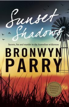 Cover of Sunset Shadows by Bronwyn Parry